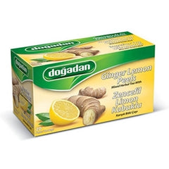 Dogadan Ginger Lemon Fruit Tea 20 Tea Bags