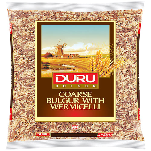 Duru Coarse Bulgur With Vermicelli 1Kg ( 2.2 Lbs )
