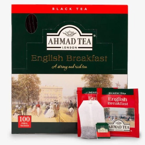 Ahmad Tea English Breakfast Tea 100 Tea Bags