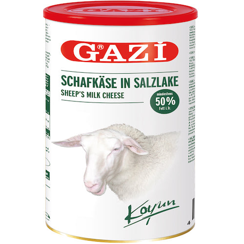 Gazi Sheep Feta Cheese %50 Fat 800Gr ( 28.2 Oz )
