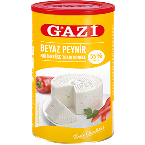 Gazi White Feta Cheese %55 Fat 800Gr ( 28.2 Oz )