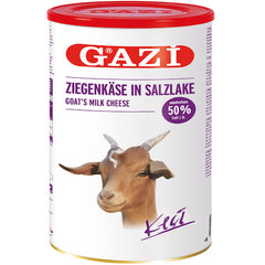 Gazi Goat Feta Cheese %50 Fat 800Gr ( 28.2 Oz )