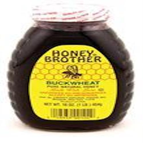 Honey Brother Buckwheat Honey 454 Gr ( 1 Lb )