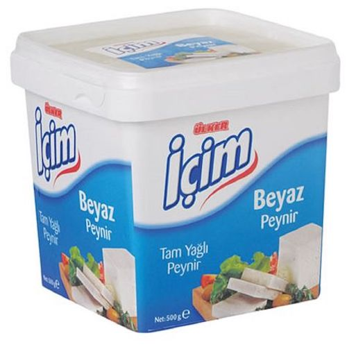 Icim Full Fat Feta Cheese 500 Gr ( 17.6 Oz )