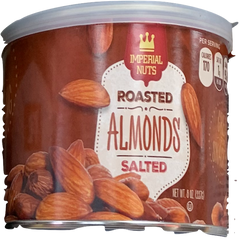 Imperial Nuts Roasted Salted Almonds 227 Gr ( 8 Oz )