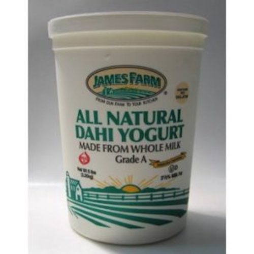 James Farm Plain Yogurt Grade A 2.27 Kg ( 5 Lbs )
