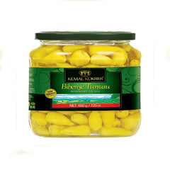 Kemal Kukrer Biberiye Tiny Hot Pepper Pickles 650 Gr ( 23 Oz )