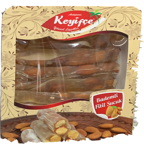 Antepsan Keyifce Stick Sausage With Almond 400Gr  ( 14.1 Oz )