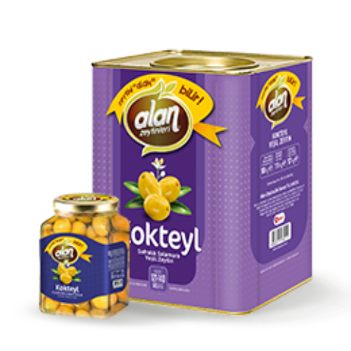 Alan Green Olive Cocktail 900 Gr ( 31.7 Oz )