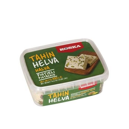 Koska Halva With Pistachios 400Gr ( 14.1 Oz )