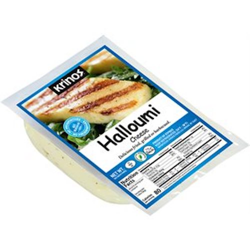 Krinos Halloumi Grill Cheese Blue Label 225Gr ( 7.9 Oz )