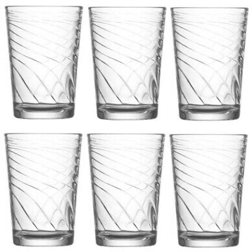 Lav Filiz Glass Set 6 Pack 205cc ( 7 Oz )
