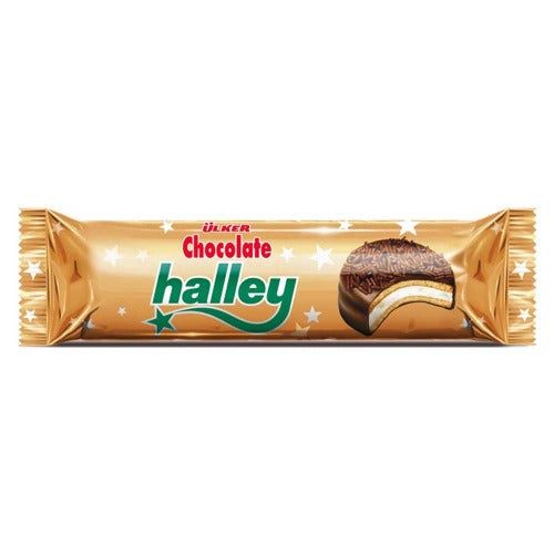 Ulker Halley Mini Chocolate Marshmallow 77 Gr ( 2.7 Oz )