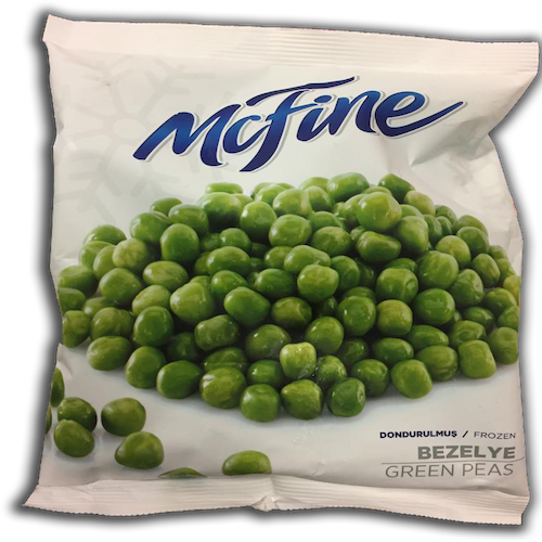 Mcfine Frozen Green Peas 450 Gr ( 15.9 Oz )