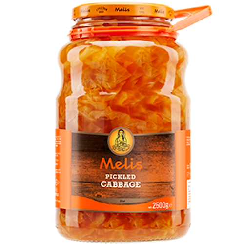 Melis Pickled Cabbage 2.5 Kg ( 5.5 Lbs )