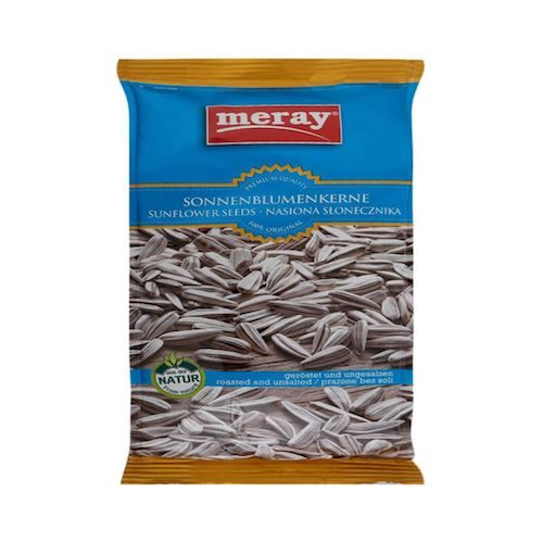 Meray Roasted & UnSalted Sunflower Seeds 300 Gr ( 10.58 Oz )