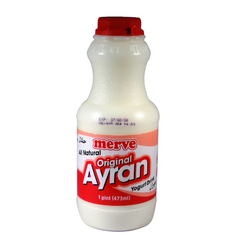 Merve Regular Yogurt Drink 473 Ml ( 1 Pint )