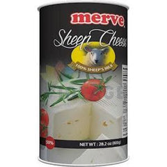 Merve Sheep Feta Cheese %50 Fat 800Gr ( 28.2 Oz )