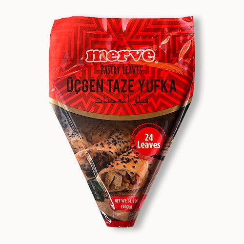 Merve Pastry Leaves Triangle 24 Leaves 400 Gr ( 14.1 Oz )