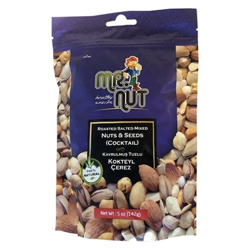 Mr Nut Cocktail Nuts & Seeds 142 Gr ( 5 Oz )