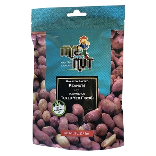 Mr Nut Roasted Salted Peanuts 142 Gr ( 5 Oz )