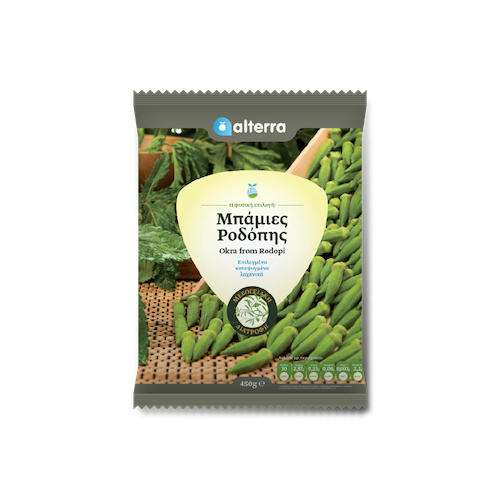 Alterra Frozen Baby Okra 450 Gr ( 15.87 Oz )