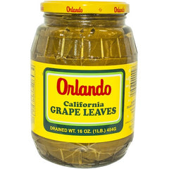 Orlando California Grape Leaves 454 Gr ( 1 Lb )
