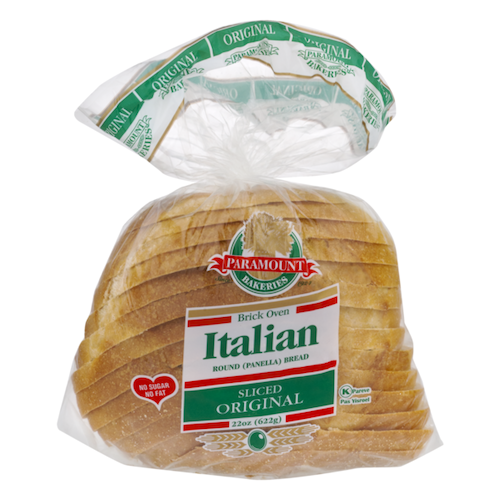 Paramount Original Italian Panera Bread Sliced 622 Gr ( 22 Oz )