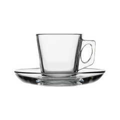 Pasabahce Vela Cup And Saucer 12 Pack 6 Oz