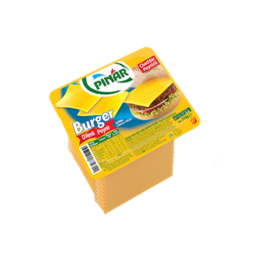 Pinar Sliced Burger Cheese 26 Slice 350Gr ( 12.3 Oz )