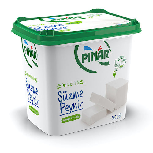 Pinar Süzme UF (Ultra Filtrated) White Cheese 800 Gr ( 28.2 Oz )