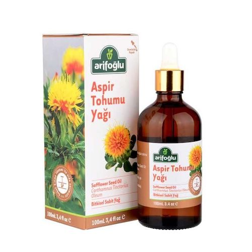 Arifoglu Safflower Seed Oil 100 Ml ( 3.4 Oz )