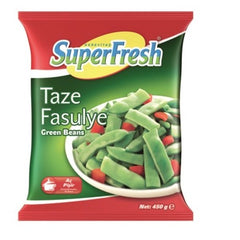 SuperFresh Frozen Green Beans 450 Gr ( 15.9 Oz )