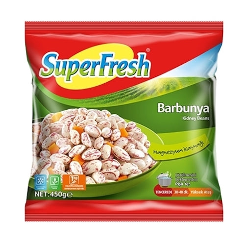 SuperFresh Frozen Red Kidney Beans 450 Gr ( 15.9 Oz )