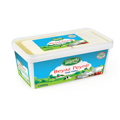 Sutas Full Fat Feta Cheese 1 Kg ( 2.2 Lbs )