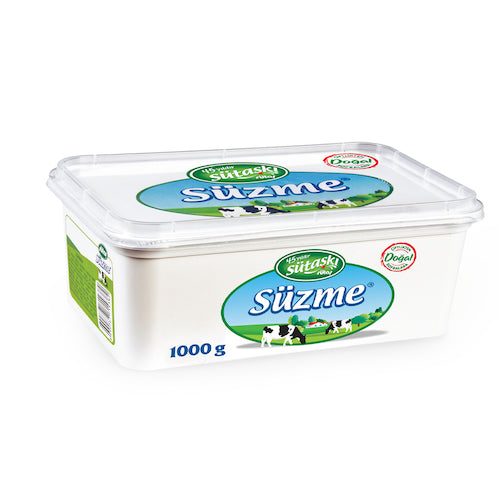 Sütaş Süzme UF (Ultra Filtrated) White Cheese 1 Kg ( 2.2 Lbs )