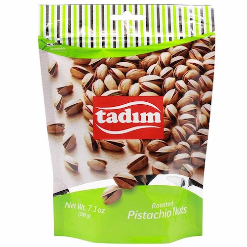 Tadim Roasted Turkish Pistachios 200 Gr ( 7 Oz )