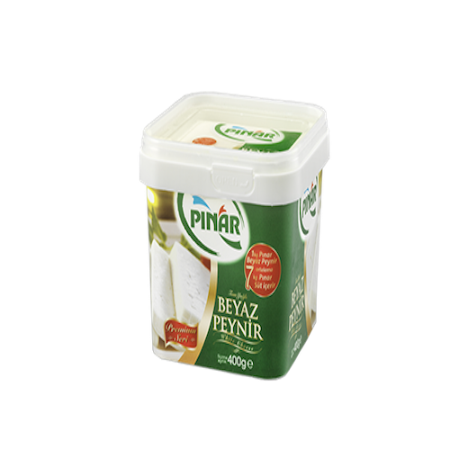 Pinar Full Fat Feta Cheese 400 Gr ( 14.1 Oz )
