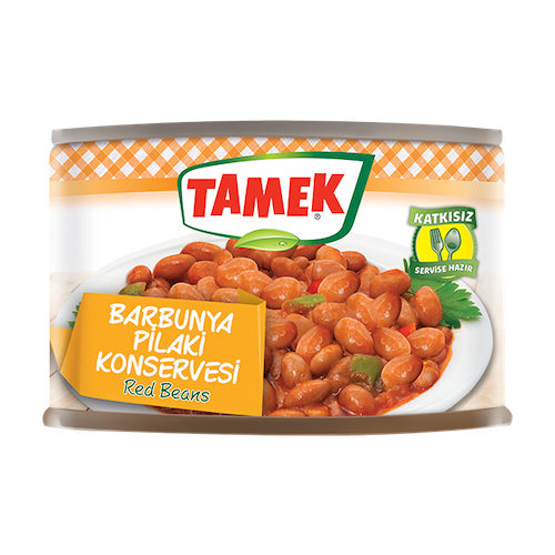Tamek Red Beans in Sauce 400Gr ( 14.11 Oz )