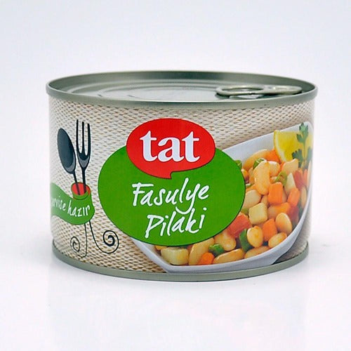 Tat Cooked White Beans In Can 400Gr ( 14.1 Oz )