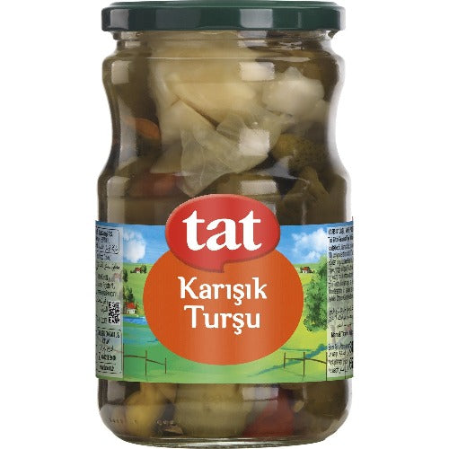 Tat Mixed Pickles 1.7 Kg ( 3.7 Lbs )