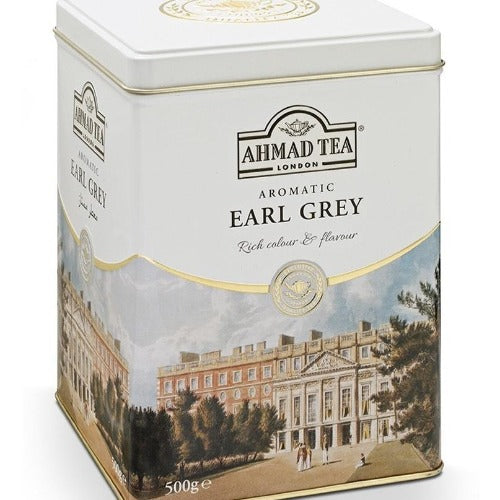 Ahmad Tea Aromatic Earl Grey Tea Tin 500 Gr ( 17.6 oz )