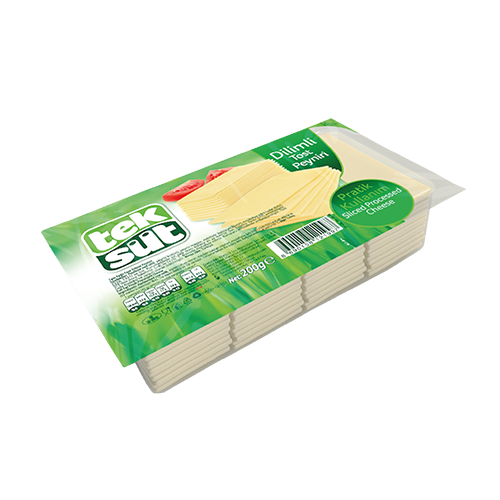 Teksut Sliced Kashkaval Cheese 200 Gr ( 7 Oz )