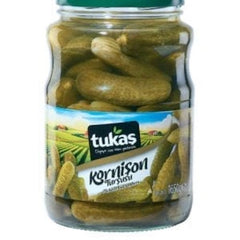 Tukas Pickled Cucumbers 1650 Gr ( 58 Oz )