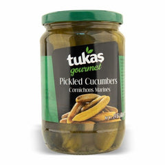 Tukas Gourmet Pickled Cucumbers 680 Gr ( 24 Oz )