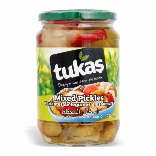 Tukas Mixed Pickles 680 Gr ( 24 Oz )