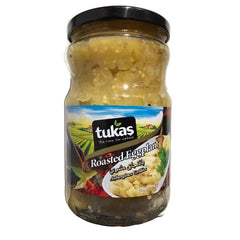 Tukas Roasted Eggplant 650 Gr ( 23 Oz )