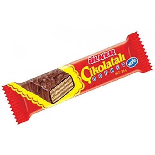 Ulker Chocolate Wafer With Hazelnut Cream 40 Gr ( 1.4 Oz )