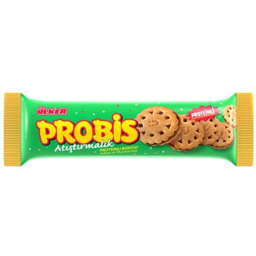Ulker Probis Cocoa And Banana Cream Cookie 75 Gr ( 2.64 Oz )