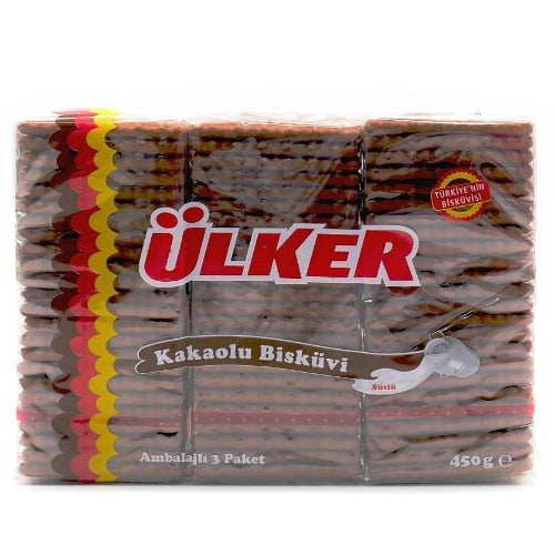 Ulker Tea Biscuit With Cocoa 450 Gr ( 15.9 Oz )